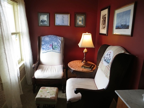 Melville reading nook