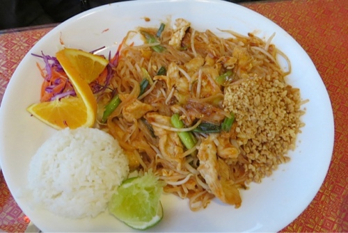 Kathleen had pad Thai...yum!
