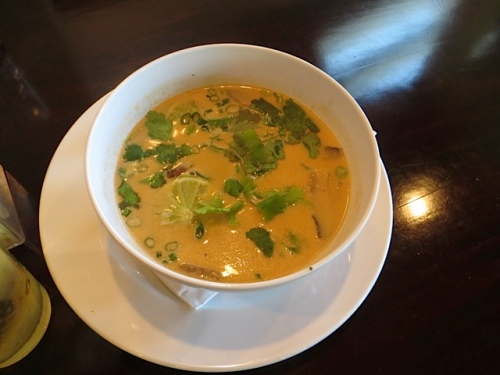 the most amazing Thai curry soup