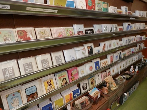 and a chance to buy a sympathy card for Susie and Bill, whose beloved cat Spanky had died a couple of days ago.