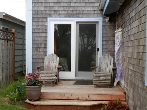 The garden suite deck