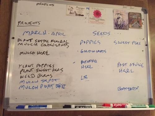 "decreasing work list...need to change ""mulch Depot"" to ""mulch Boreas"""