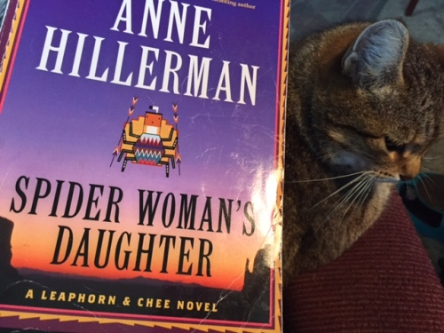 Tony Hillerman's daughter is doing a good job at carrying on his mystery series.