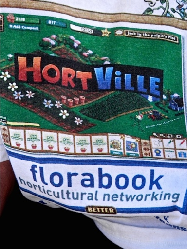 Todd had a t shirt based on Farmville, although Allan only realized that later!