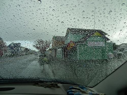 much rain