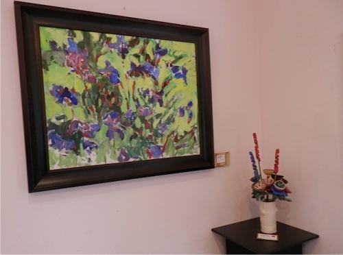 Wiegardt Irises and Karen Brownlee flowers