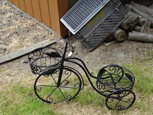 tiny plant bike
