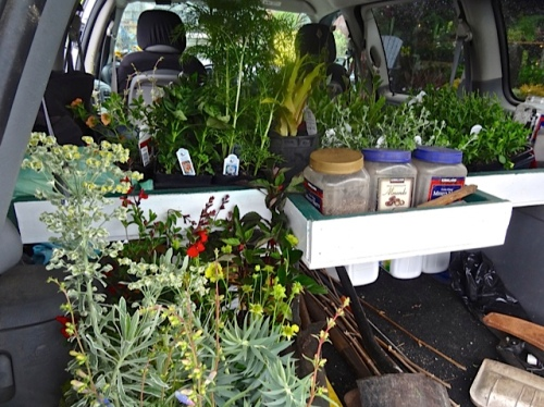 Allan's photo: The van could have held lots more.