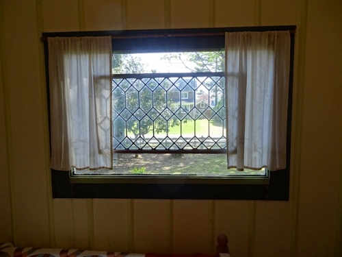 east bedroom window