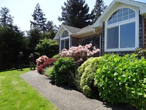east side garden
