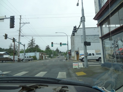 leaving Ilwaco...the drive north to KBC would give the weather time to improve.