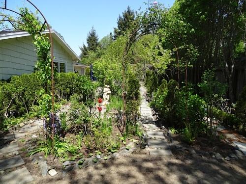 the enclosed garden