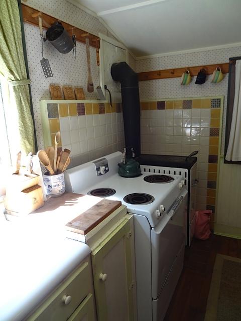 stove and a trash burner like my grandma used to have