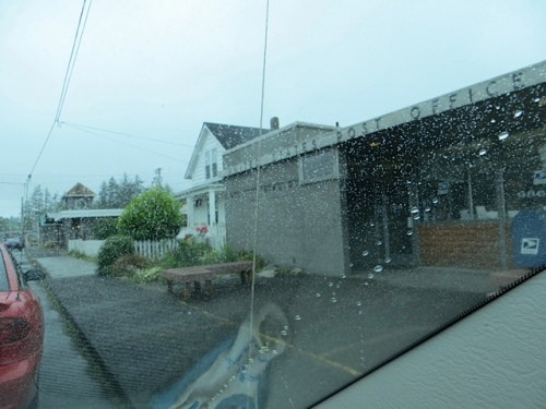 at the Ilwaco Post Office