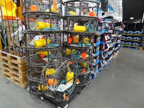 I bet the Seattle Costcos don't have crab pots.