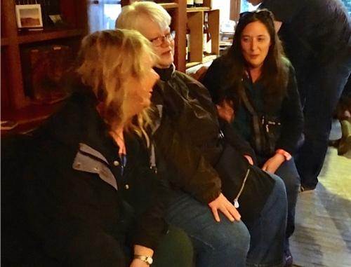 Allan's photo: me, Kathleen, Ann