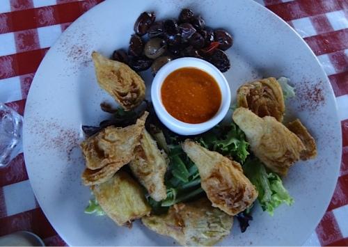 artichoke fritos