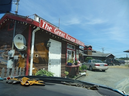 Great Escape Coffee drive-through