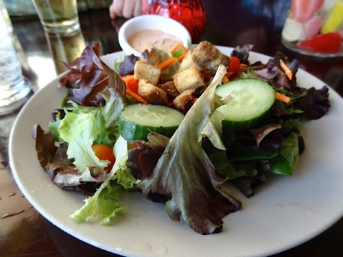 Allan's dinner salad