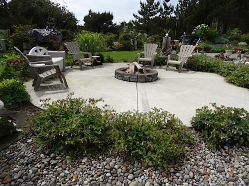 Sam's garden, from her driveway