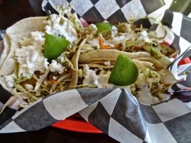 fish tacos, $3 each