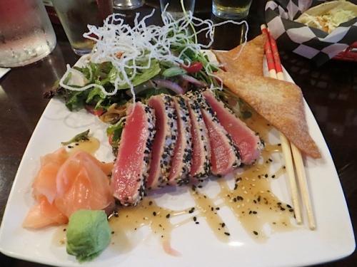 my ahi tuna