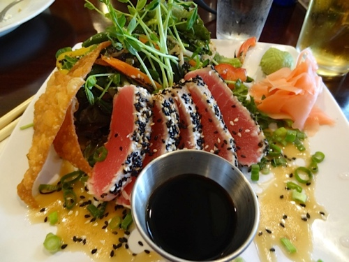 my delicious ahi tuna