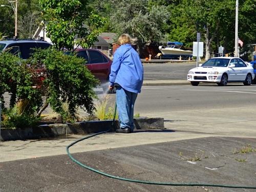 watering duty