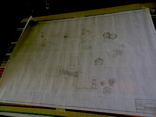 map of house and garden