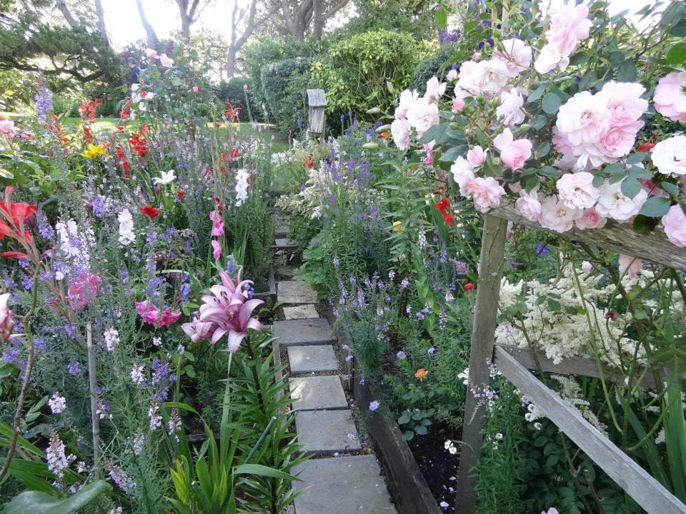 cutting garden path