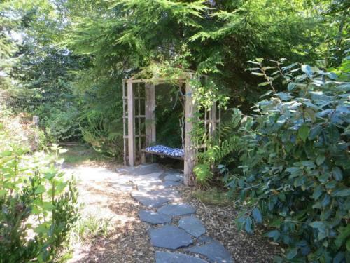 path destination, a secret sit spot