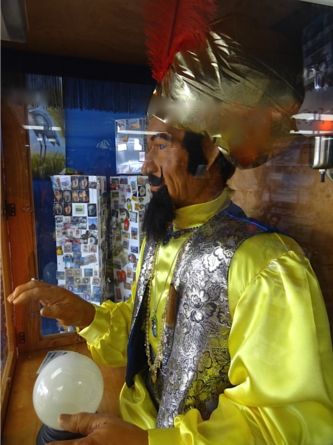 Allan's photo: Zoltar waiting to tell your fortune