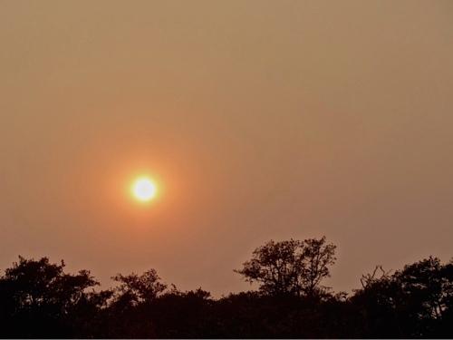 the hazy sun (Allan's photo)