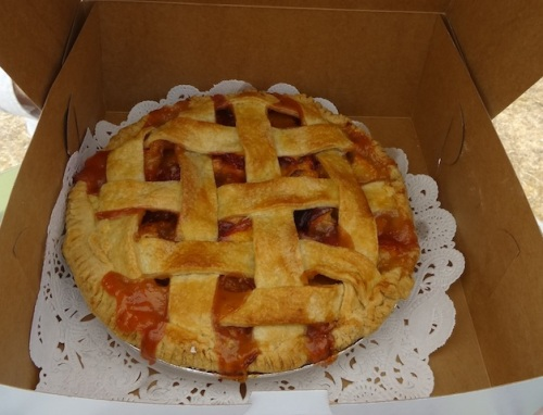the peach pie