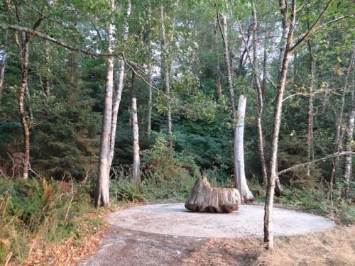 Maya Lin's Cedar Circle