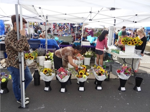 another flower booth