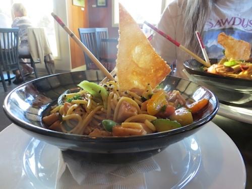 Melissa's noodle bowl