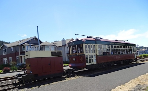 Clang, clang, clang went the trolley. Ding, ding, ding went the bell.