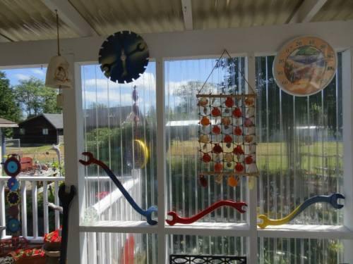 deck windows looking east