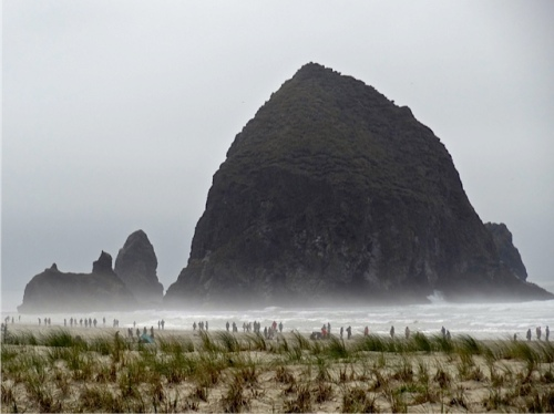 Allan's photo: the iconic Cannon Beach symbol, Haystack Rock