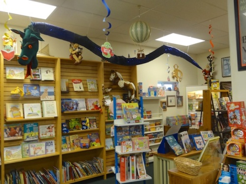 the children's book corner