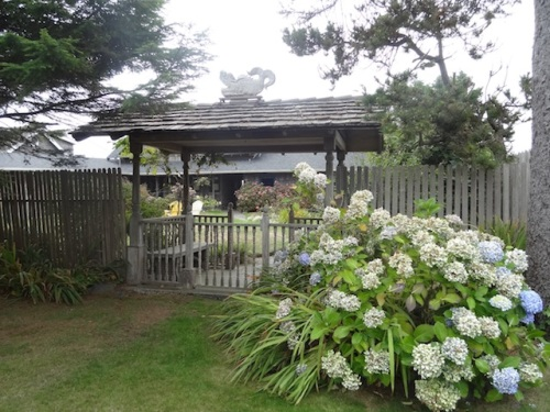 An arbor that I have admired for years.