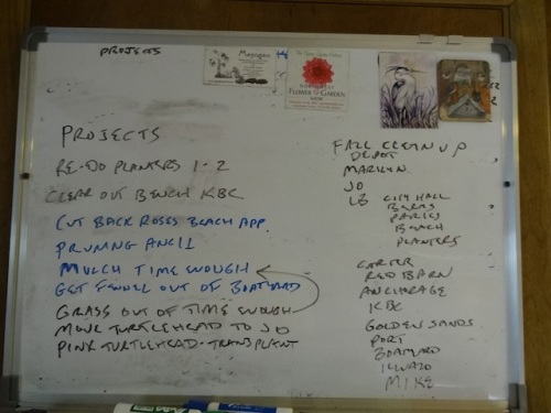 the autumnal work board