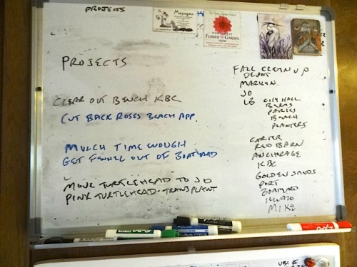 The project board just got smaller.
