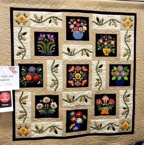 5Bee Quilt Guild raffle quilt