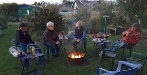 a simply perfect autumn campfire evening
