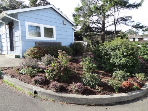 The Cannon Beach Garden Club clubhouse