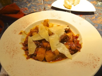 Cinghiale Brasato, my favourite winter menu dish.