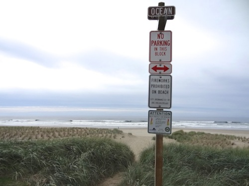 the wisdom of Cannon Beach (no fireworks!)