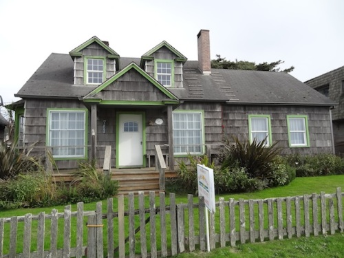 This house was once on the cottage tour, and had a reading chair in each dormer.